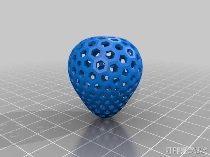 类球形 镂空多面体 3D模型  图4