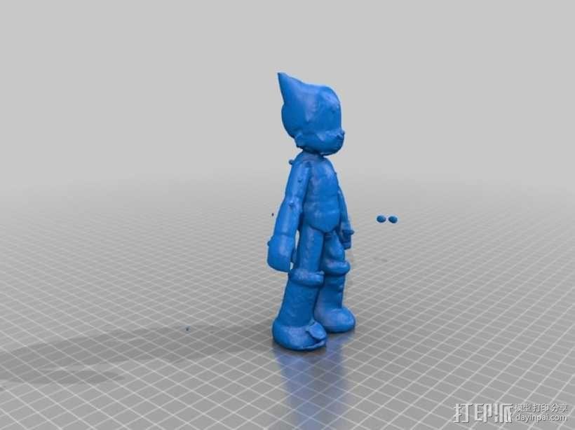 铁壁阿童木 3D模型  图1