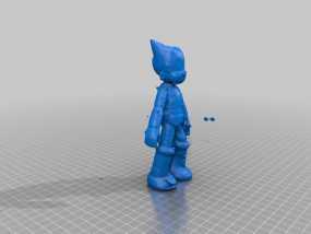 铁壁阿童木 3D模型
