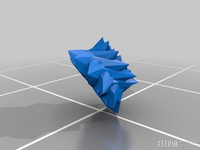 几何学 装饰品 3D模型  图2
