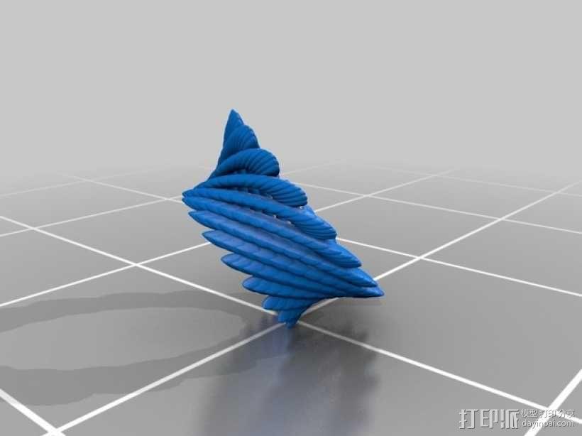 几何学 装饰品 3D模型  图6