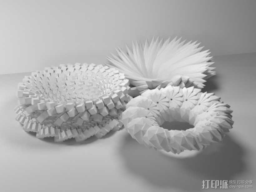 几何学 装饰品 3D模型  图8