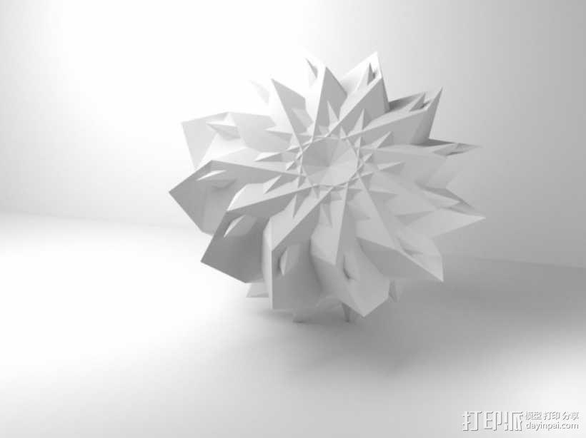 几何学 装饰品 3D模型  图9