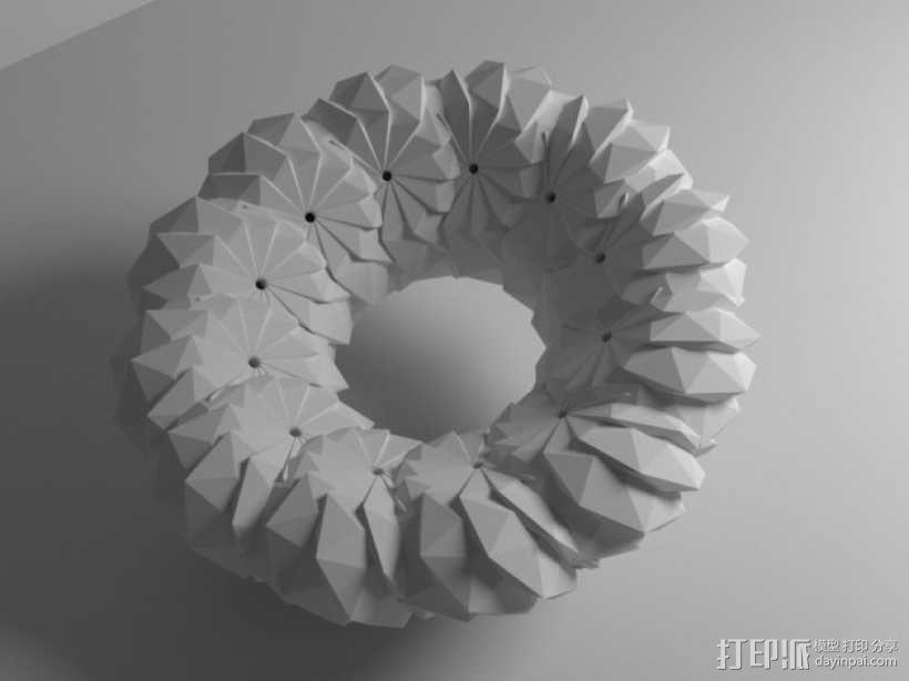 几何学 装饰品 3D模型  图10