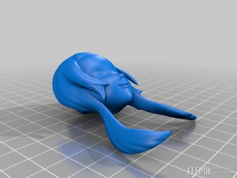 欧巴桑 3D模型  图6