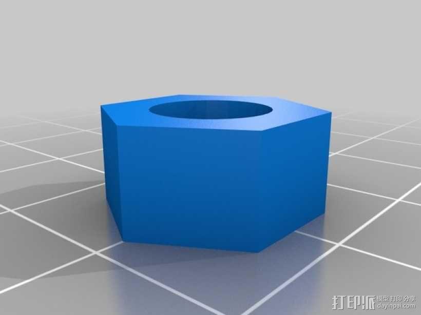 中性笔套 3D模型  图3