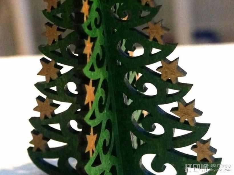 圣诞树 3D模型  图1