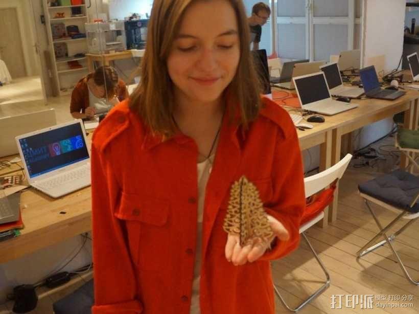 圣诞树 3D模型  图3