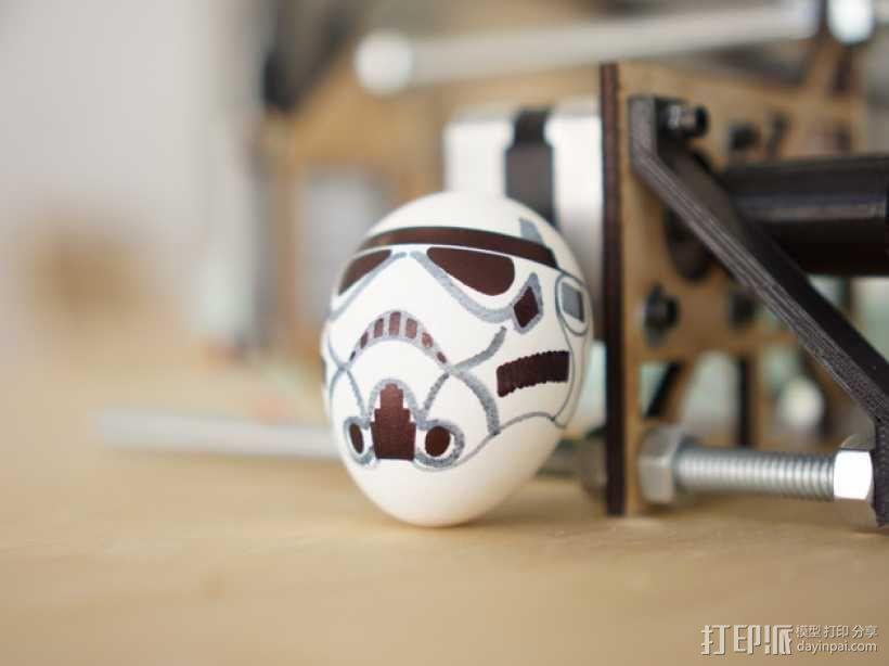 蛋蛋机器人——冲锋队 3D模型  图1