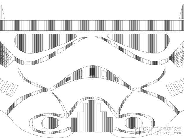 蛋蛋机器人——冲锋队 3D模型  图2