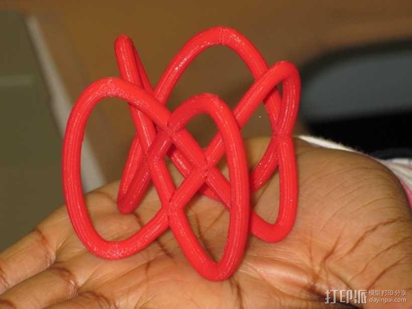 利萨如图形 3D模型  图1