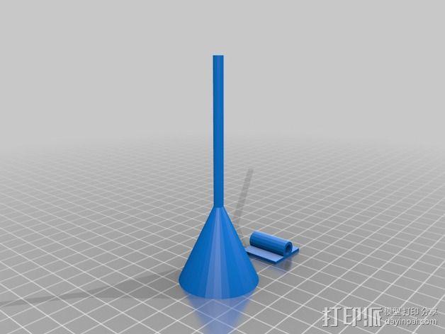 标记支架 3D模型  图2