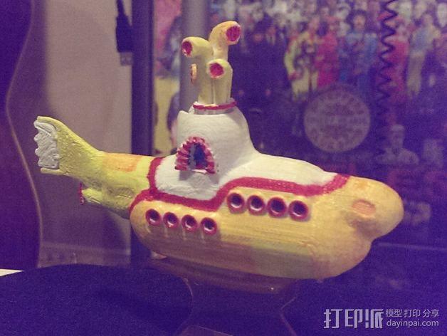 黄色潜水艇 3D模型  图3