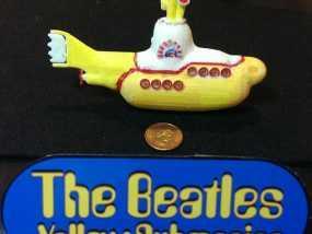 黄色潜水艇 3D模型
