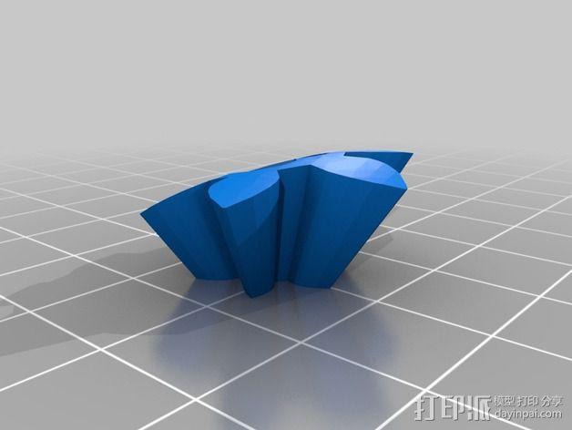 迷你心形齿轮 3D模型  图5