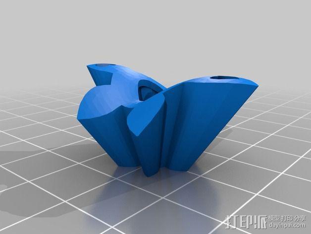迷你心形齿轮 3D模型  图8