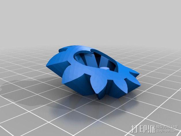 迷你心形齿轮 3D模型  图7