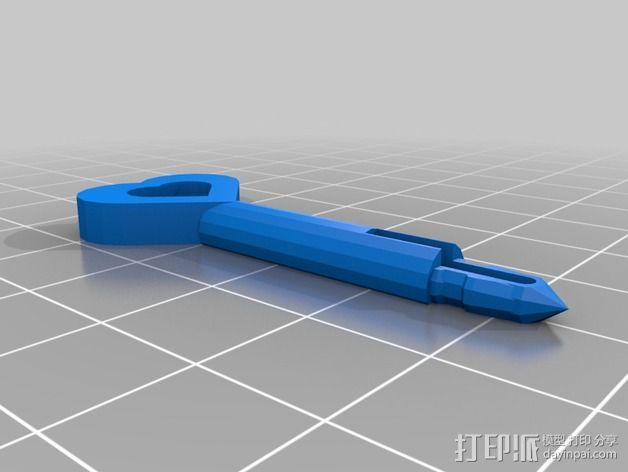 迷你心形齿轮 3D模型  图10