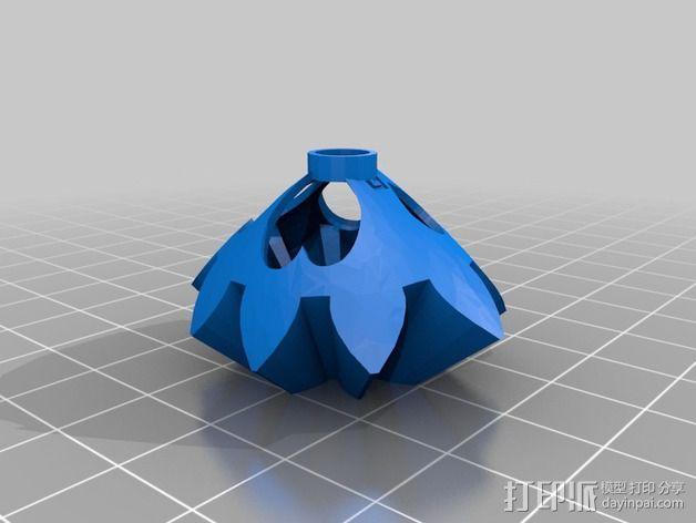迷你心形齿轮 3D模型  图9
