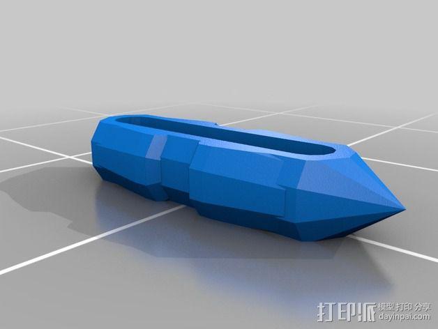 迷你心形齿轮 3D模型  图12