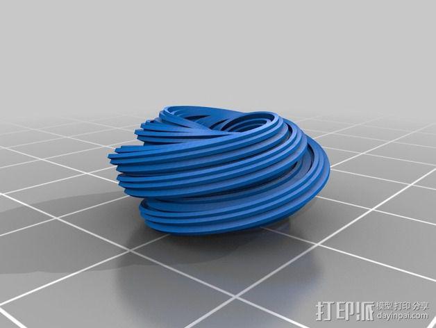 个性化 分形图案 3D模型  图2
