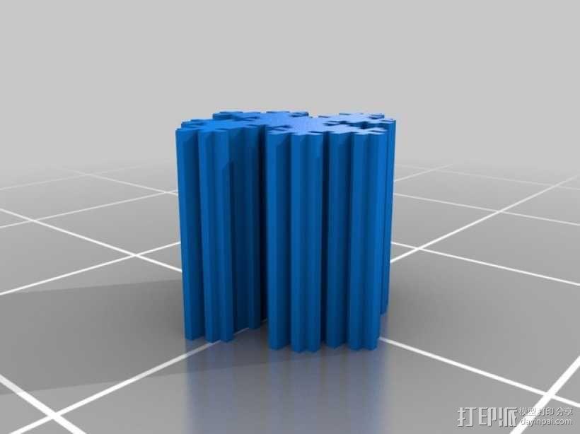 个性化 分形图案 3D模型  图7