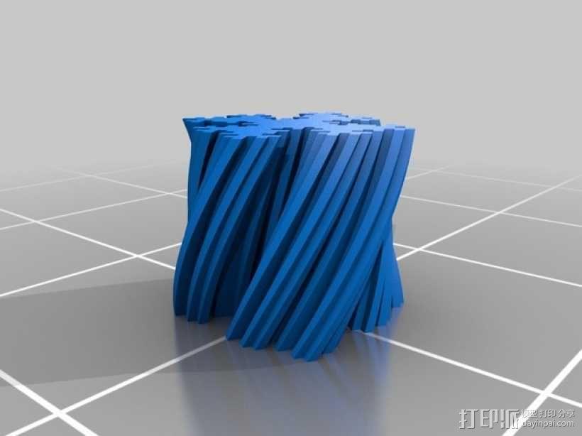 个性化 分形图案 3D模型  图8
