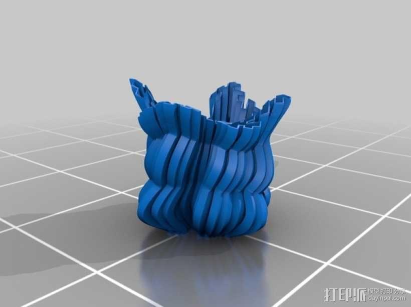 个性化 分形图案 3D模型  图9