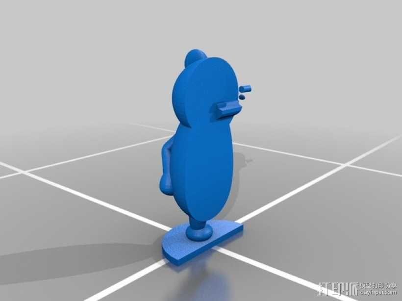 黑白熊 3D模型  图5
