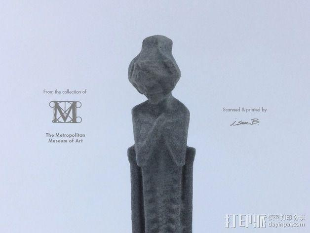 建筑大师赖特 塑像 3D模型  图2