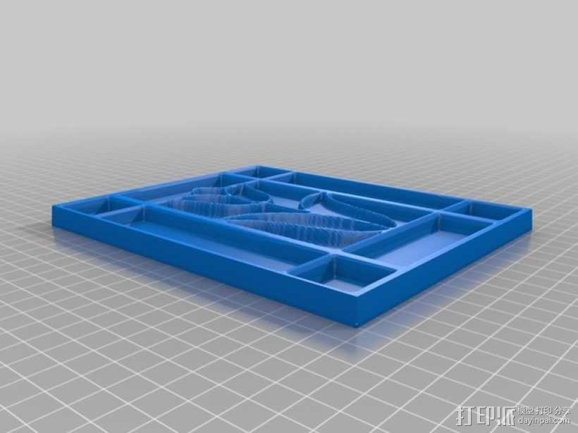 郁金香 3D模型  图3