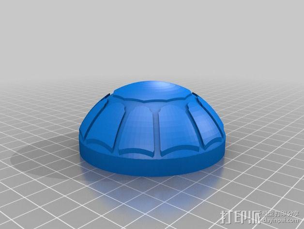 九种镇纸 3D模型  图2
