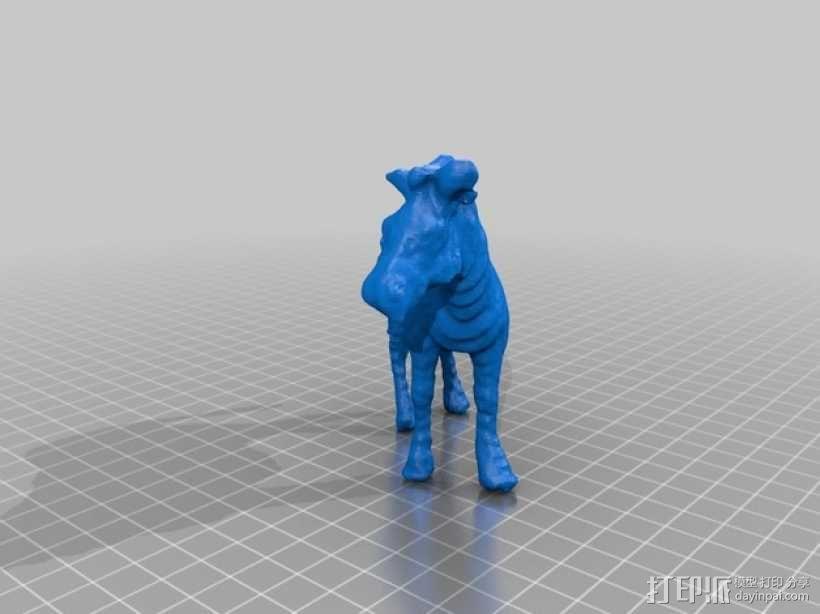 斑马 玩具 3D模型  图2