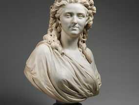 Wailly夫人 雕塑 3D模型