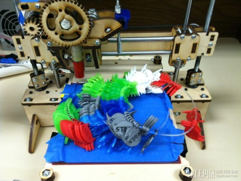 STEM优秀徽章 3D模型  图1