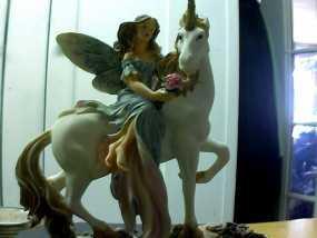 独角兽与天使 3D模型