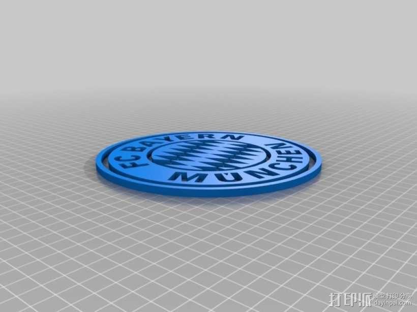 拜仁慕尼黑 3D模型  图2