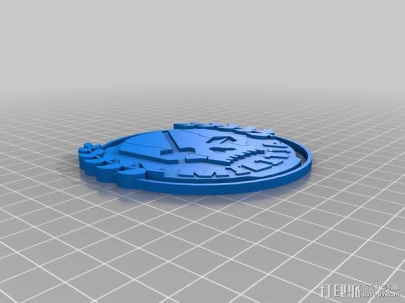 游戏《泰坦陨落》民兵标志 3D模型  图2