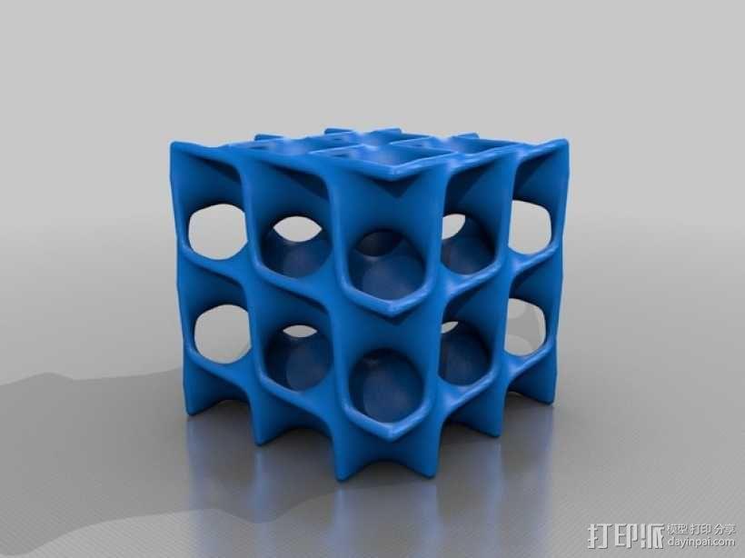 Schwarz 立方体 3D模型  图2