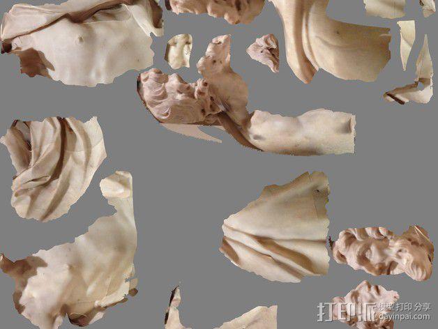 圣巴托洛缪大屠杀 塑像 3D模型  图2