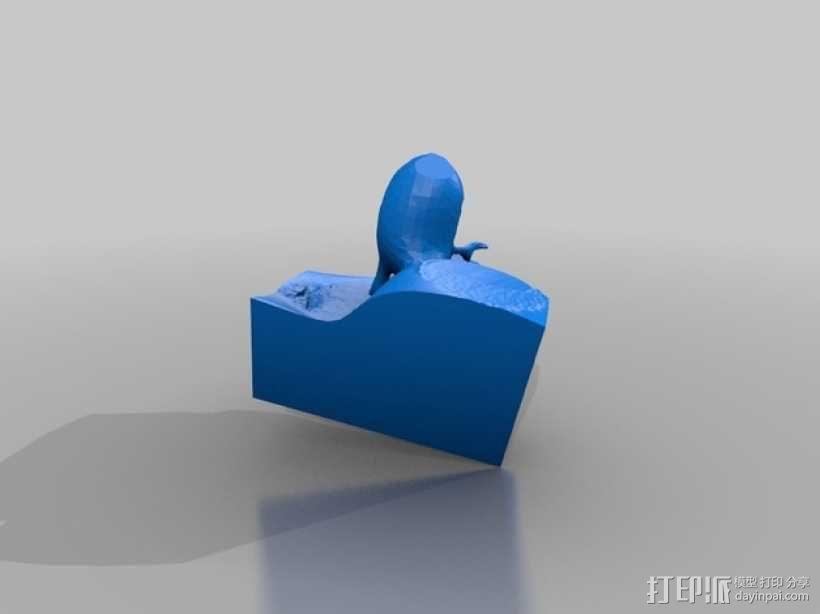 扶手椅 3D模型  图2