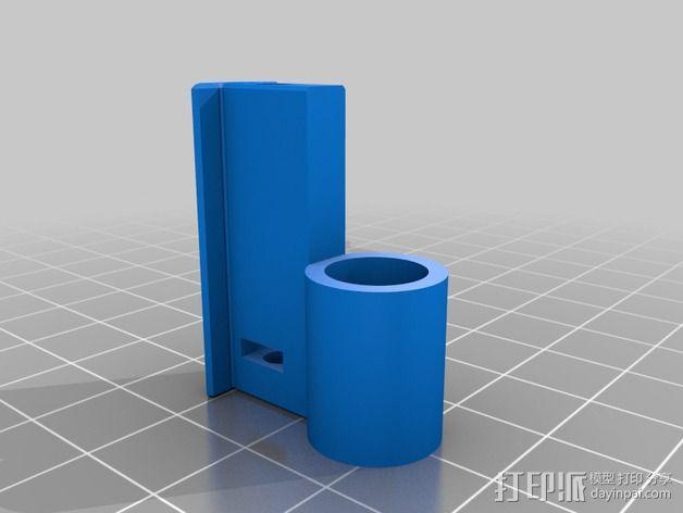 弹簧 笔筒 3D模型  图3
