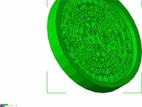 玛雅日历 模具 3D模型