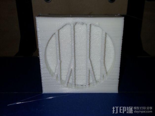 玛雅日历 模具 3D模型  图2