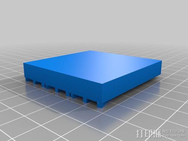 玛雅日历 模具 3D模型  图8