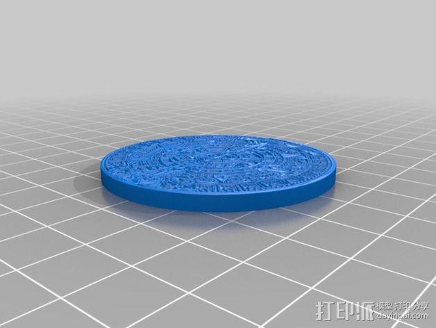 玛雅日历 模具 3D模型  图12