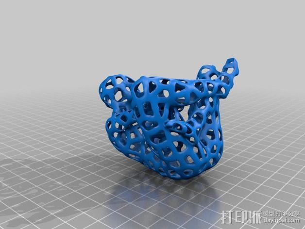 镂空人偶 测试版 3D模型  图4