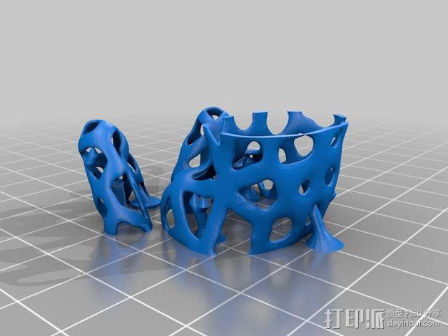 镂空人偶 测试版 3D模型  图6