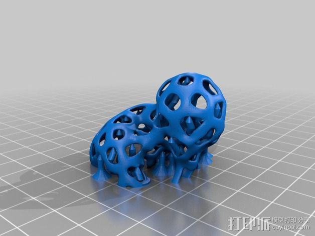 镂空人偶 测试版 3D模型  图7