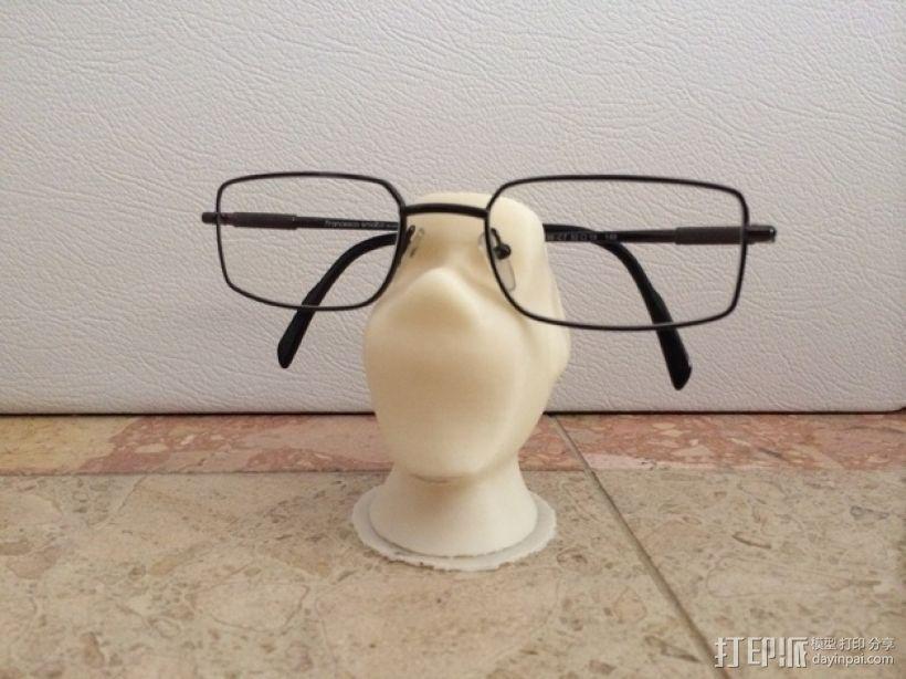 眼镜架 3D模型  图1